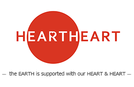 HEARTHEART -the EARTH is supported with our HEART and HEART